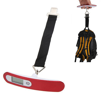 50kg/10g Electronic Digital LCD Display Luggage Scale Travel Suitcase Bag Weight