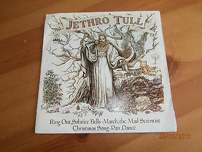 """Jethro Tull  – Ring Out, Solstice Bells - CXP2 7"""", EP, 45 RPM"""