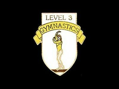 Level 5 Gymnastics Lapel Pin - YOU'RE HALFWAY THERE!