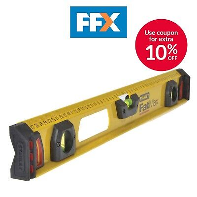 Stanley STA143553 FatMax I Beam Level 60cm / 600mm 2ft
