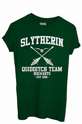 T-Shirt SLYTHERIN QUIDDITCH HARRY POTTER - FILM by iMage Dress Your Style