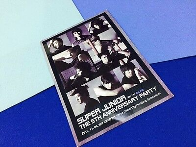 Super junior the 5th anniversary party with elf 2nd