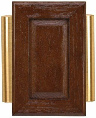 Heath Zenith 48 Wired Raised-panel Door Chime, Satin-brass Finished Tubes