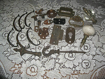 23 Pieces of Antique Vintage Assorted Hardware