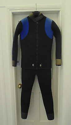 Mens Two Piece Diving Snorkelling Wetsuit