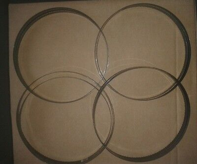 """4 x 59 1/2"""" ( 1510 mm ) x 3/16"""" (about 1/4"""" ) x  6 tpi Bandsaw Blades"""