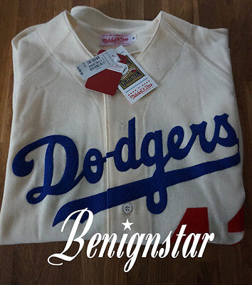 Mitchell & Ness Jackie Robinson 1955 Authentic Jersey Brooklyn Dodgers
