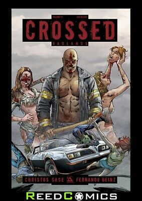 CROSSED VOLUME 17 GRAPHIC NOVEL New Paperback Collects Crossed Badlands #93-100