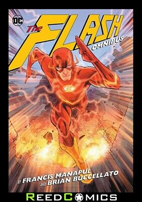 FLASH BY MANAPUL & BUCCELLATO OMNIBUS HARDCOVER Hardback Collects Issues #0-25