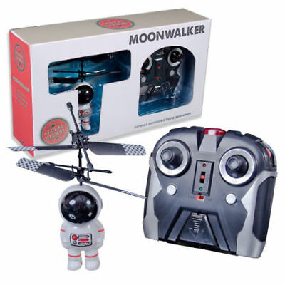 Remote Control Helicopter Spaceman Moonwalker Toy