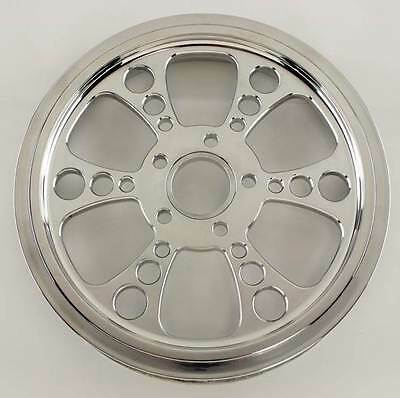 """Ultima Polished Kool Kat Pulley 1.5"""" Wide, 70 Tooth 99'- Earlier & 00'- Later"""