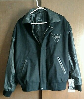 fraternal order of eagles jacket NEW with leather