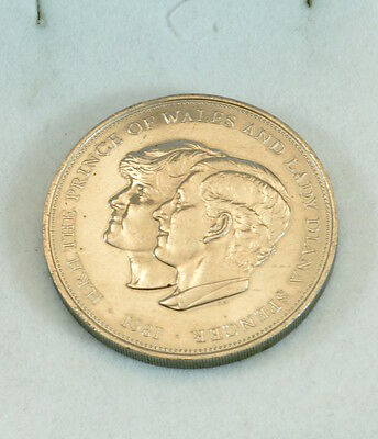 1981 Prince of Wales and Lady Diana Commemorative coin