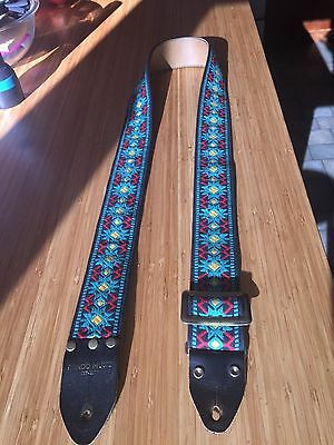 vintage ace style/ rondo music guitar strap