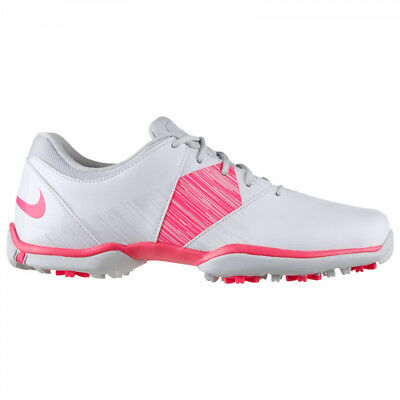NEW Womens Nike Delight V Lady Golf Shoes White/Pink/Platinum- Choose Your Size!