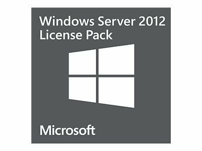 Microsoft Windows Server 2012 Lenovo MS Win Serv Client Acc ***For use with prod