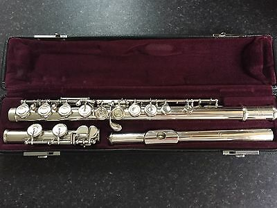 Yamaha 511 Solid Silver Flute - Serviced