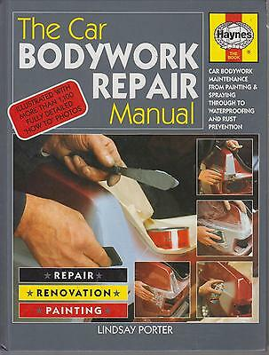 Car Bodywork Rust Removal Treatment Panel Beating Welding Grp Repair Paint Book