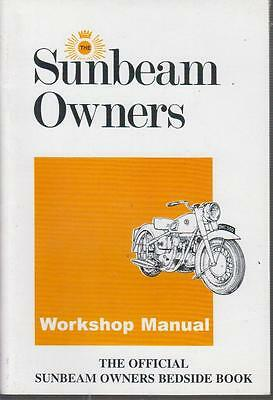 SUNBEAM 500cc OHC S7 , S7 DE LUXE & S8 ( 1946 - 1957 ) OWNERS WORKSHOP MANUAL