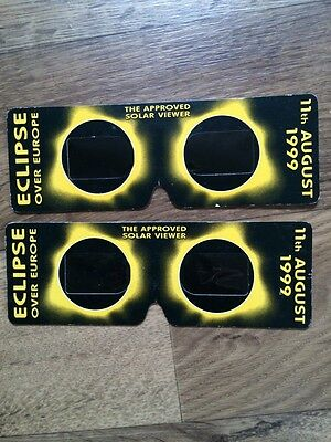 1999 Solar Eclipse Viewers Hand Held