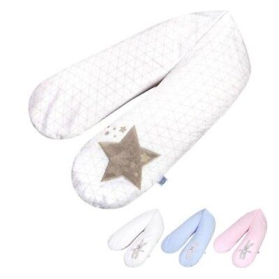 Zöllner Nursing Pillow with Applique 190 cm Choice of Colours