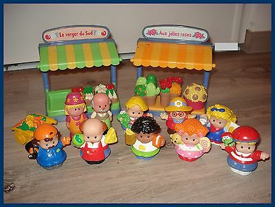 Lot LITTLE PEOPLE personnages