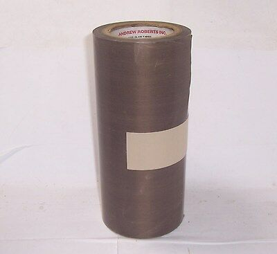 anrob 502-5 ptfe none adhesive fabric 9 3/4 inch by 36 yards