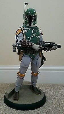 Premium Format Star Wars Boba Fett Figure by Sideshow Collectibles