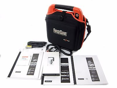 Survivalink FirstSave AED Training Unit 9100 9163-001 (Manuals, Tape, Cables)