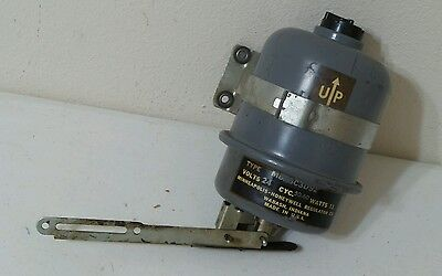 "Vintage MINNEAPOLIS-HONEYWELL Furnace ""fire Door"" Damper Motor"
