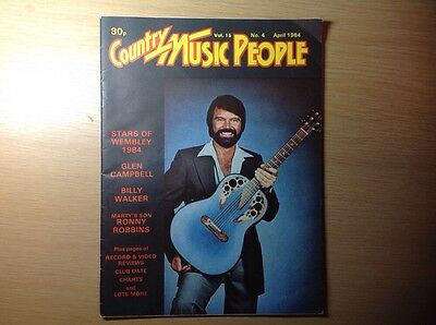 COUNTRY MUSIC PEOPLE MAGAZINE APRIL 1984 vol 15 no 4