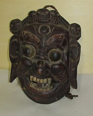 Antique Asian Nepalese Oriental Mask
