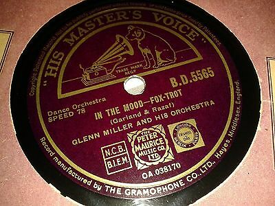 GLENN MILLER and His Orchestra : IN THE MOOD  /  OUT OF SPACE.   UK.78rpm (1940)