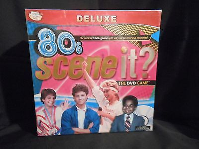 NEW Scene It?  THE 80s EIGHTIES DVD Trivia Board Game