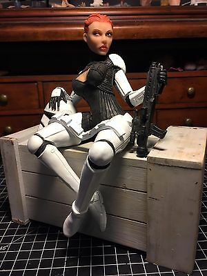 Sexy She-trooper, first order storm trooper  star wars statue