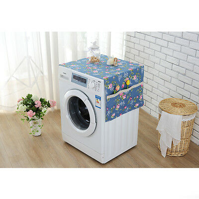High Quality Refrigerator Wash machine Dust proof Cotton Cover Organizer Pockets