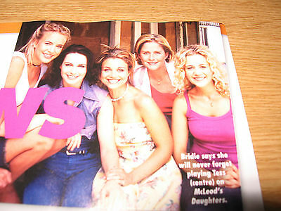 BRIDIE CARTER - Magazine Clippings - McLEOD'S DAUGHTERS 800 WORDS