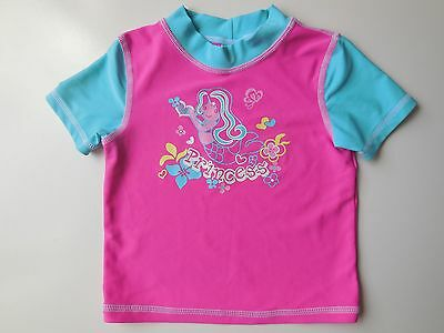 Baby Girl Rash Vest Top Bathers Swimwear Size 0 Fits 6-12M New
