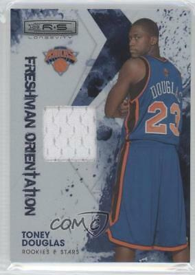 2009-10 Panini Rookies   Stars  27 Toney Douglas New York Knicks Basketball  Card 7adce45cb