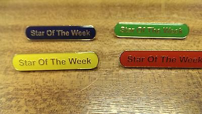 Pack Of 10 Star Of The Week Badges