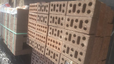 Clay Render Bricks 230 x 110 x 76. Pick up or delivery available