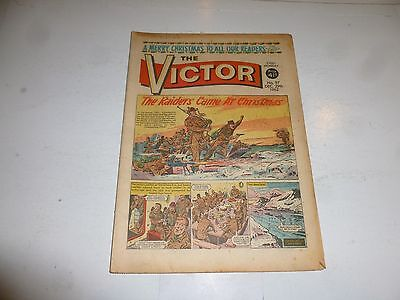 VICTOR Comic - Issue 97 - Date 29/12/1962 - UK Paper Comic