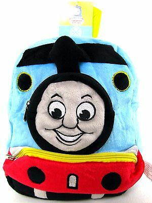 Thomas the tank engine kids extremely soft Plush doll Backpack bag tote