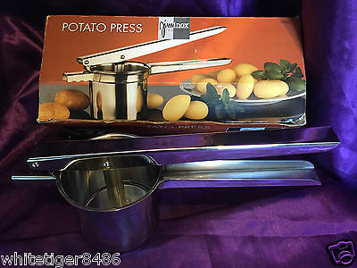 Potato Press - Ricer/masher - Stainless Steel - Fixed Base - Jiminox - New/boxed