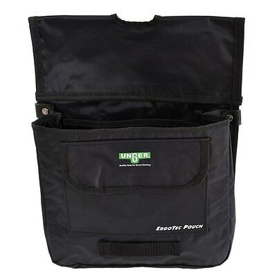 Unger Ergotec Pouch pocket LARGE- Window Cleaning  3 compartments.
