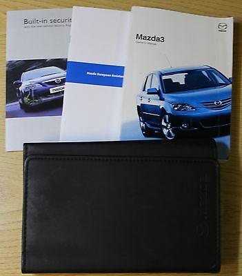 Mazda 3 Handbook Owners Manual Wallet 2003-2006 Pack 4136