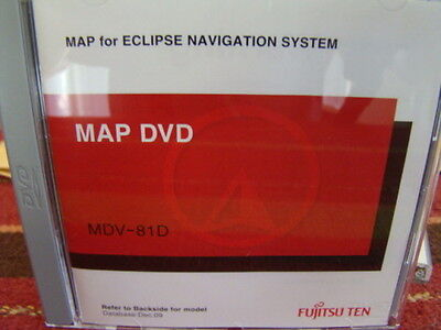 ECLIPSE AVN 52D DVD MAP DISC 2011 Used but in excellent condition