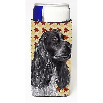 Cocker Spaniel Fall Leaves Michelob Ultra bottle sleeve for Slim Can