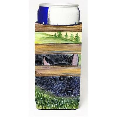 Carolines Treasures Scottish Terrier Michelob Ultra bottle sleeve for Slim Can