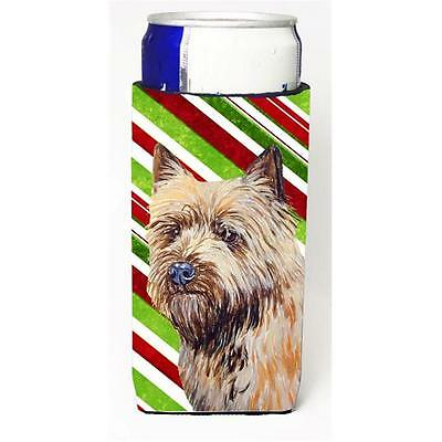Cairn Terrier Candy Cane Holiday Christmas Michelob Ultra bottle sleeves For ...